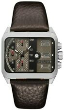 Police HOMERTON Men's Chronograph Quartz Watch & Brown Leather Strap 15528JS/02