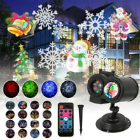 Moving LED Lights xmas Projector Landscape Lamp Christmas Decoration Outdoor AU