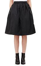 Nuevo Acne Studios Mujer Pimlico ACOLCHADO ACOLCHADO Falda Negro Talla XS 32 de gran tamaño