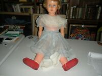 3 Foot Tall Vintage Doll Dress & shoes and Socks AE3651 Movable Joints Lifelike