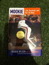 Mookie Wilson signed book Mets star