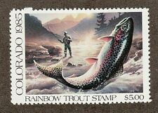 COT1 - Colorado Rainbow Trout Stamp. MNH. OG. Single.   #02 COT1