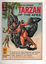 Tarzan #159 1ST FULL ADAPTATION JEWELS of OPAR! 1966 GOLD KEY HIGH GRADE VF 8.0!