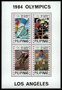 Philippinen 1984 - Mi-Nr. Block 24 ** - MNH - Olympia Los Angeles