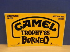 Sticker - Decal : Camel Trophy Borneo '85 with org.back 80's (02151)