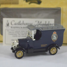 Castlehouse Models Police Car Warwick Castle Morris Bull Nose Die Cast Metal UK
