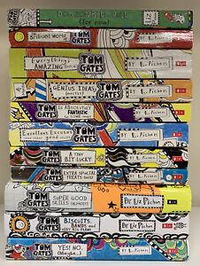 Tom Gates 11 Books Collection Set Bundle By Liz Pichon (see photos for titles)
