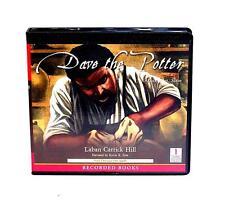 BOOK/AUDIOBOOK CD Age 4+ Laban Carrick Hill DAVE THE POTTER ARTIST, POET, SLAVE