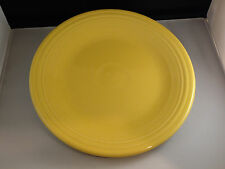 "Fiestaware Dinner Plate 10 1/2"" Sunflower Yellow Homer Laughlin China Fiesta"