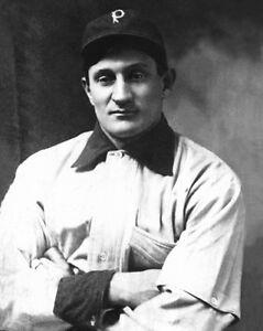Pittsburgh Pirates HONUS WAGNER Glossy 8x10 Photo Vintage Baseball Portrait
