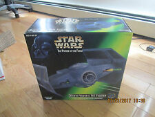 VINTAGE STAR WARS 1997 POWER OF THE FORCE DARTH VADERS TIE FIGHTER SEALED IMIB