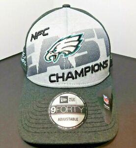 Philadelphia Eagles NFC EAST Champions Hat New Era 9Forty Adjustable Rare New