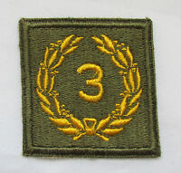 WWII Era US Army Meritorious Unit 3rd Award Patch