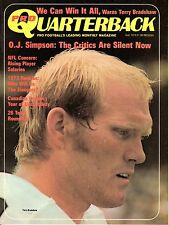 1973 (Sep.) Pro Quarterback Football magazine,Terry Bradshaw,Pittsburgh Steelers