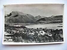 Ben Nevis and Loch Linnhe from Corpach, Fort William.   (J B White Ltd - 1956)