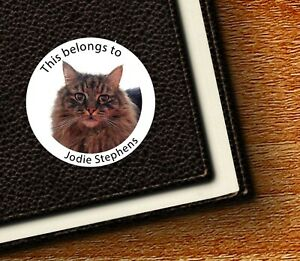 Own Pet/Dog/Cat/Rabbit Photo Labels/Seals - This belongs to/Party Thank You/Bags