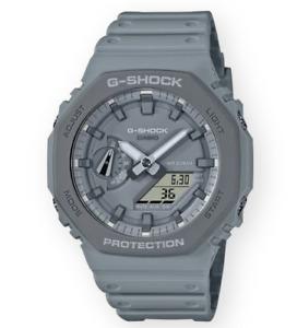 Authentic Casio G-Shock Analog-Digital Gray Resin Men's Watch GA2110ET-8A