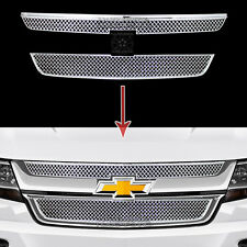 2015-2019 Chevrolet Colorado Chrome Grille Overlays Front Grill Covers Inserts