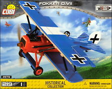 COBI Fokker D.VII -=Rudolf Berthold=- (2978) - 219 elem. - WWI German fighter