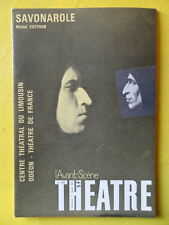 L'Avant-Scène Théâtre 463 1971 Michel Suffran Savonarole et La Balle au Chasseur