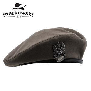 Sterkowski SOSABOWSKI REPLICA Wool Beret Brigade Military Historical Polish Army