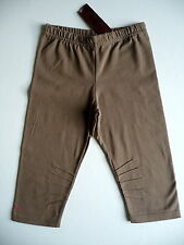 CATIMINI LEGGINGS COURT OU CYCLISTE MARRON 8 ANS NEUF