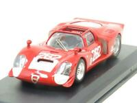 Best Models Diecast 9147 Alfa 33.2 Spyder Targa Florio Red 1 43 Scale Boxed
