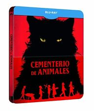 CEMENTERIO DE ANIMALES - BLURAY STEELBOOK - STEPHEN KING - NUEVO SIN ABRIR