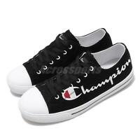 Champion CP Sailcloth Black White Red Gum Men Classic Casual Shoes 83-2210211