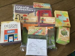 Lot Creative Craft Kits Wendy's Kids' Meal Toys