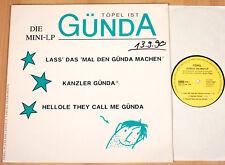 """TÖPEL - Töpel ist Günda / Die Mini-LP  (ZYX 1990 / 12""""-MAXI / NEUWERTIG)"""