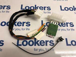 Genuine Vauxhall Corsa D Heater Blower Motor Fan Resistor & 4 Wire Repair Kit