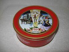 "1896 1996 ~100 Years Collin Street Bakery Deluxe 7"" Fruit Cake Tin Corsicana, TX"