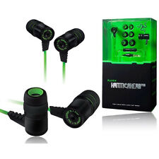 3.5mm Stereo In-ear Bass Razer Hammerhead Pro Earphone With Michael Hammer Gamer