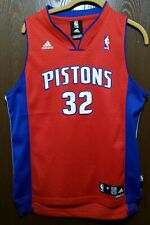 Adidas Richard Hamilton Detroit Pistons Basketball Jersey Youth Large Stitched