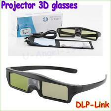 3D Active Shutter Glasses DLP-LINK 3D dlo glasses for Optoma Sharp LG Projectors