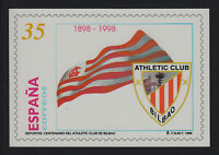 Spain Cards Mail And Of Initiative Private 37 1998 Athletic Of Bilbao Fu