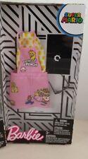 PRINCESS PEACH OVERALL Super Mario Bros Barbie Doll Fashion Pack Nintendo