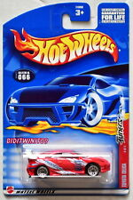 HOT WHEELS 2002 TUNERS TOYOTA CELICA #066 RED