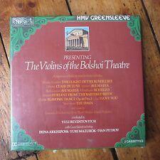 Violins of the Bolshoi Theatre HMV Cassette Box Set NOS Sealed Yuli Reyentovich