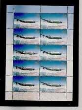 timbres neufs** d'Allemagne  en  feuille  de 10  timbres  Poste  aérienne  .