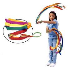 Rainbow Dancing Ribbon Rhyth Gym Ballet Streamer Twirling Rode Cheer Leading
