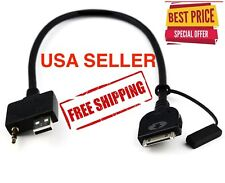 Tough Samurai - compatible with Hyundai Kia Cable USB/Aux to Ipod/Iphone cord