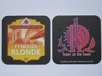 Hadrian Border Brewery Tyneside Blonde Beermat Coaster B