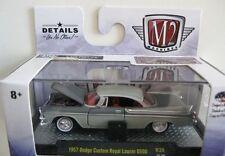 ' 57 Dodge Custom Royal Lancer d500 2-Tone Grey 1957 *** m2 machines 1:64 Neuf dans sa boîte