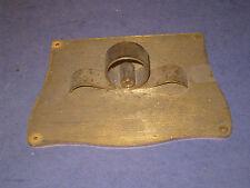 Vintage Kundo Keninger German Clock Part BRASS GLASS CASE DECOR TOP 400 day  5K3