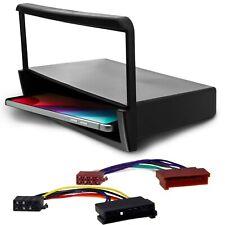 Radio Blende mit Ablage Rahmen Adapterkabel Einbau Set 2in1 Buchse 8pin für Ford