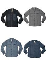 Levis Long Sleeve Shirts Men's Levi's Classic Button Up Denim Blue Grey