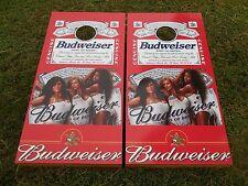 Budweiser Girls Corn Hole Boards - Bean Bag Toss Game