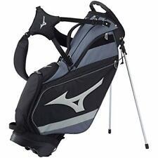 MIZUNO Golf Men's Stand Caddy Bag Tour 9.5 x 47 inch 2.6kg Black 5LJC202500